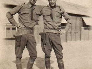 Joe Christy and Jay M. Reid - WWI Soldiers