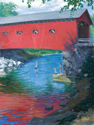 West Arlington, VT Covered Bridge