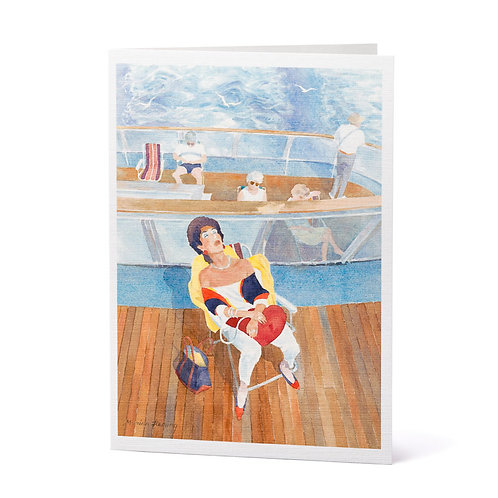 Snoozin' Cruisin' Greeting Cards