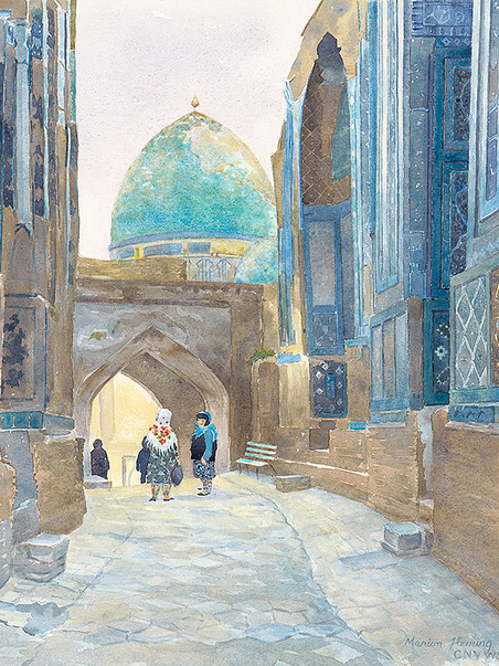Conversation in Samarkand