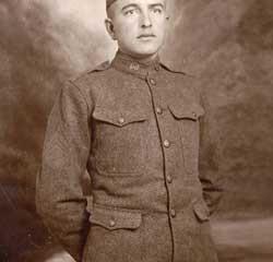 Wilbur H Bohne  WWI Soldier