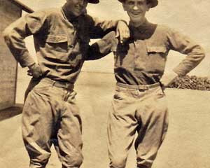 William Dolan and Walter Carlson - WWI Soldiers