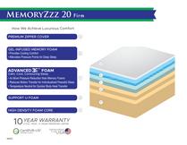 MEMORYZZZ 20 FIRM SPEC