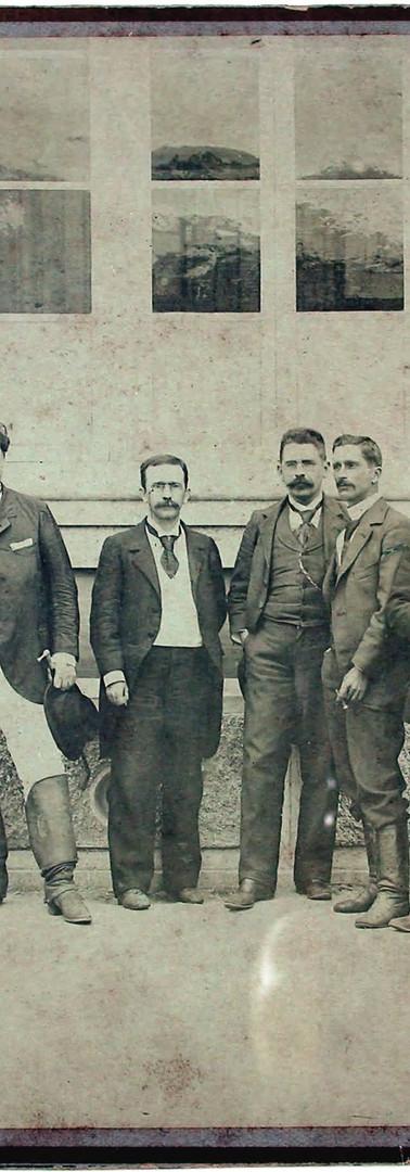 Conde de Santa Marinha e auxiliares - ba