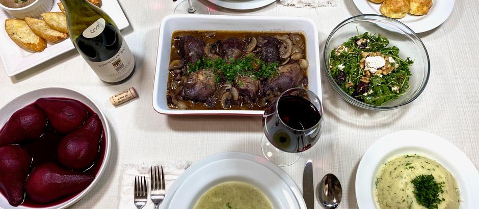 12.22.2020 Dinner in Burgundy