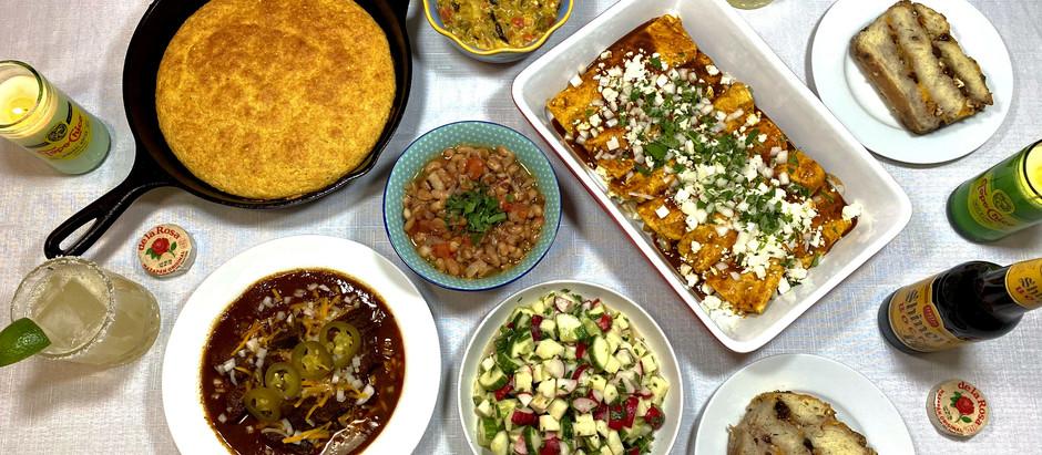 5.4.2021 Dinner in The Rio Grande Valley