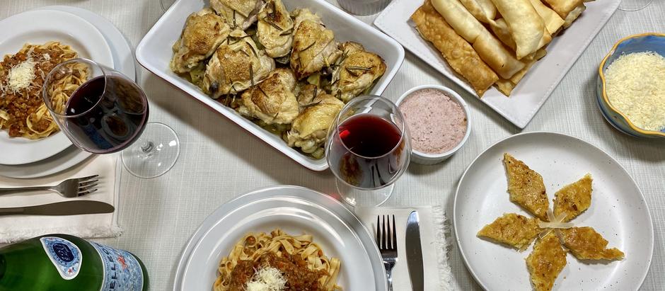 12.6.2020 Dinner in Bologna