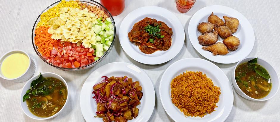 2.7.2021 Dinner in Lagos