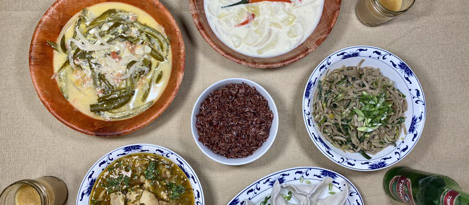 12.20.2020 Dinner in Thimphu
