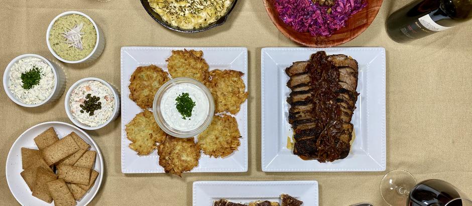12.13.2020 Dinner in Brooklyn: A Chanukah Special