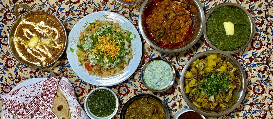 12.8.2020 Dinner in Delhi