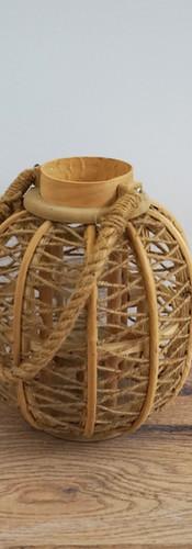 Bambo and Rope Lanterns