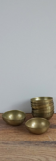 Brass tealight holders