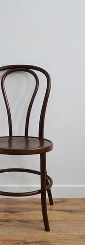 Walnut Bentwood Chair