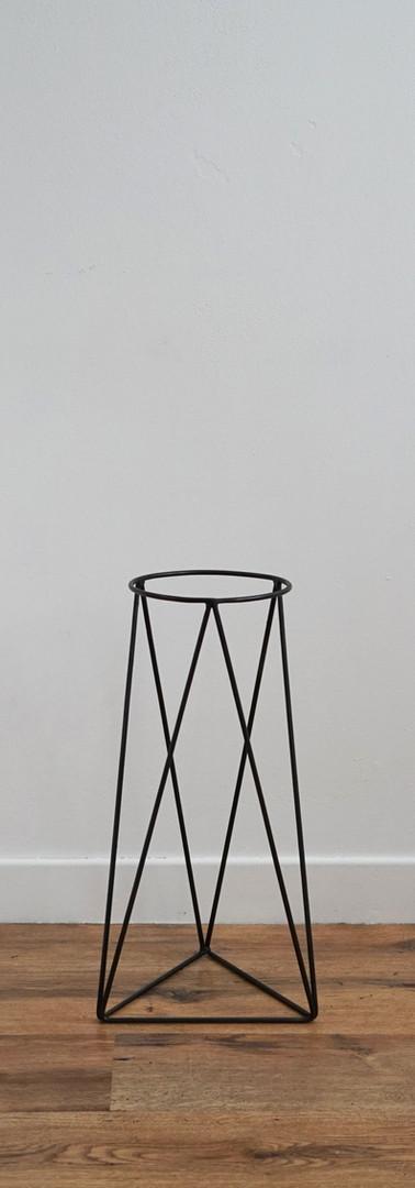 Small Steel Geo Pot Stand