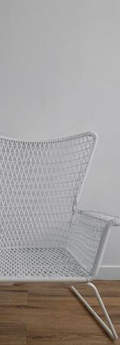 Woven High Back Chair
