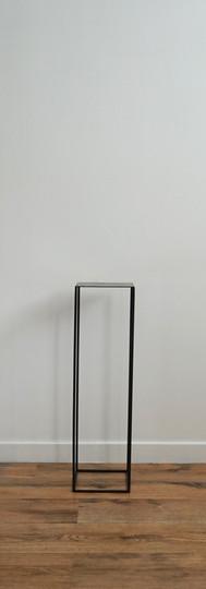 Small Steel Plinth