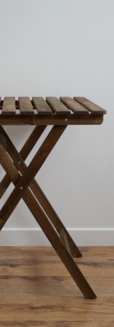 Folding Bistro Table.