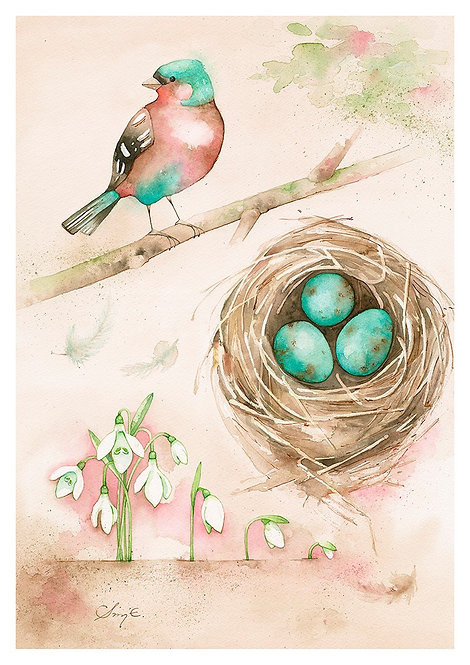 New Beginnings / Art Print A4