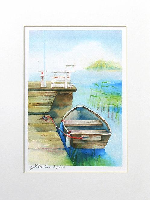Rusty Pier / Limited Edition Print 18x24cm