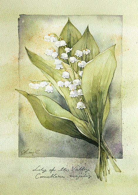 Lily of the Valley 21x30cm