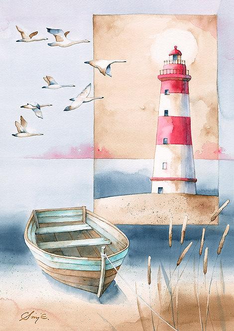 Birds Of Passage / Art Print A4