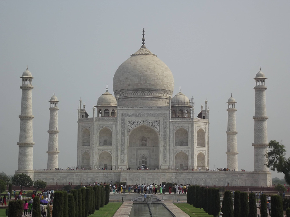 Taj Mahal picture I clicked last year on a trip