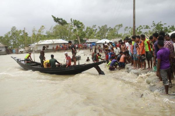 People being rescued