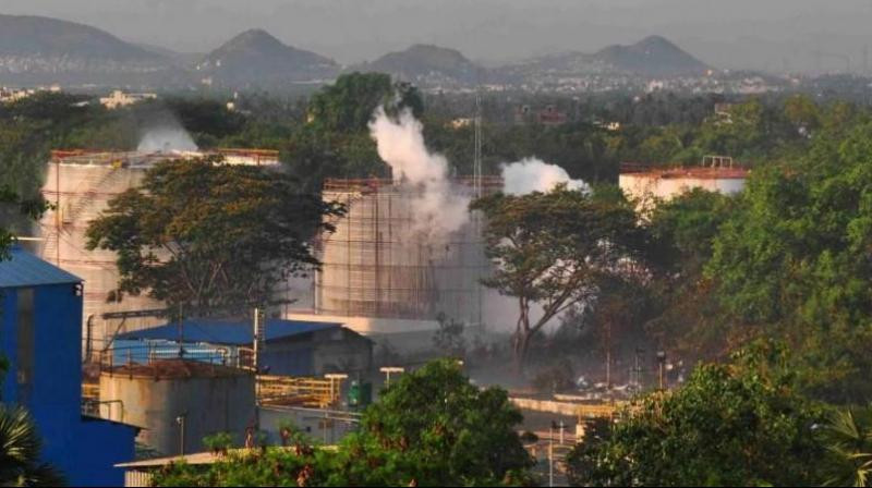 Gas Leak at LG Polymer Plant, Vizag