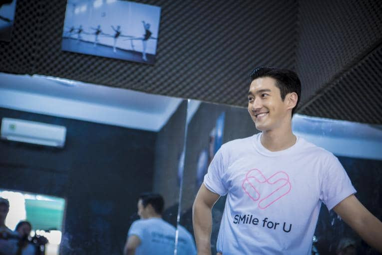 Siwon Choi for SMile for U