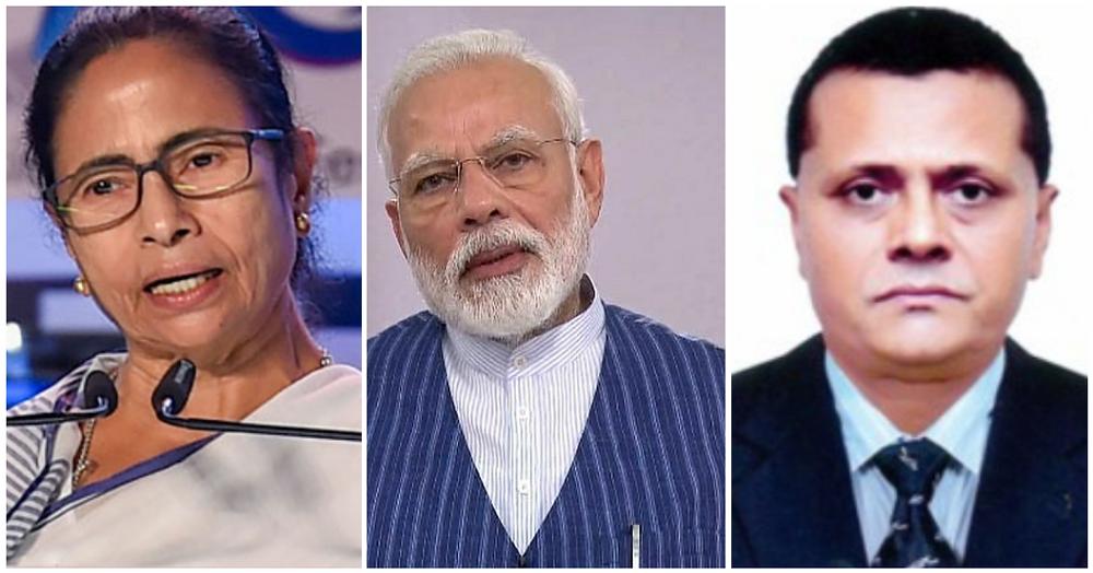 Ms. Mamata Banerjee, Shri Narendra Modi and Mr. Moin Uddin