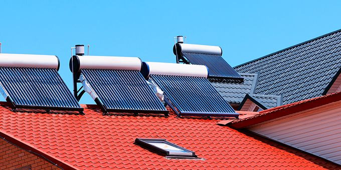 Solar Heater can save up to 50-80% of power