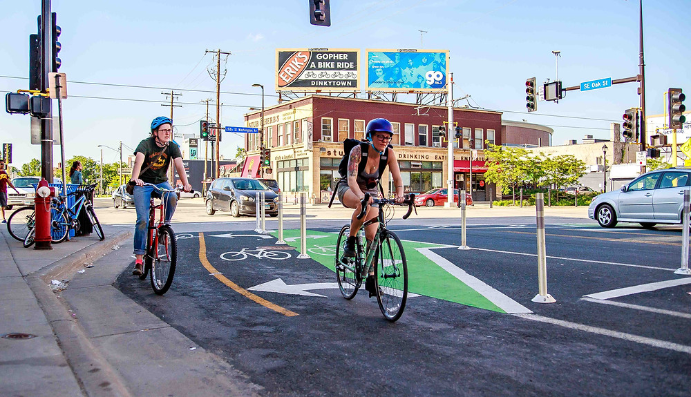 Bike Commuting Reduces Carbon Footprint