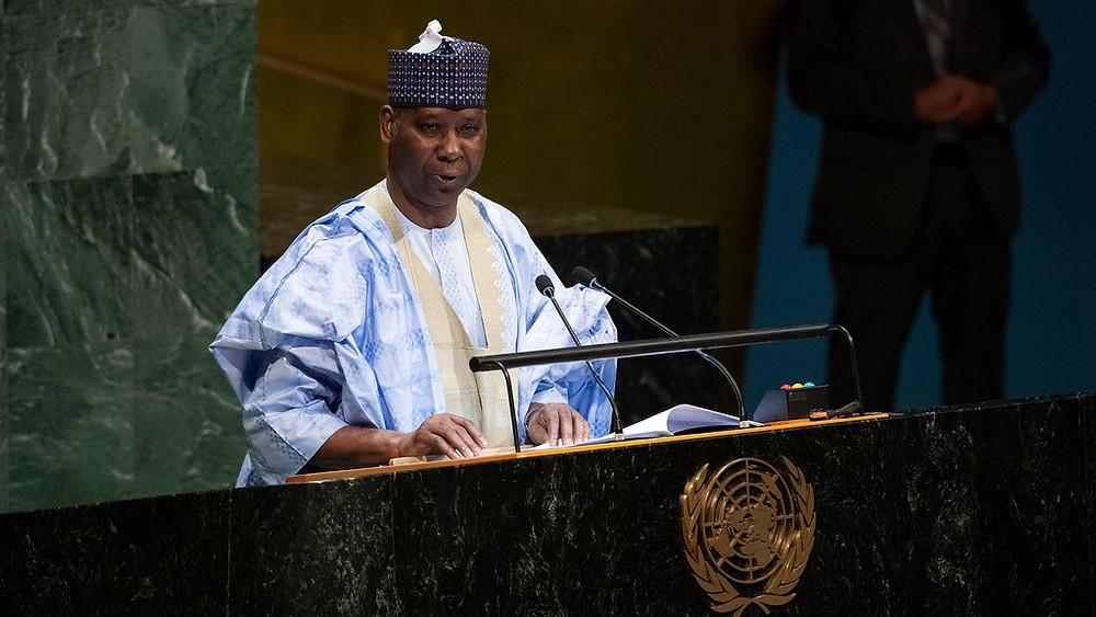 President of General Assembly, Tijjani Muhammad-Bande