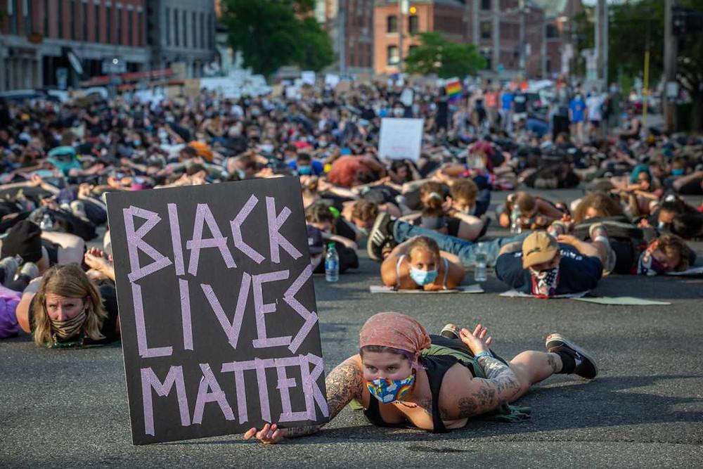 #BlackLivesMatter Protest in Portland
