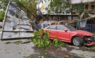 Destruction caused by Amphan Cyclone