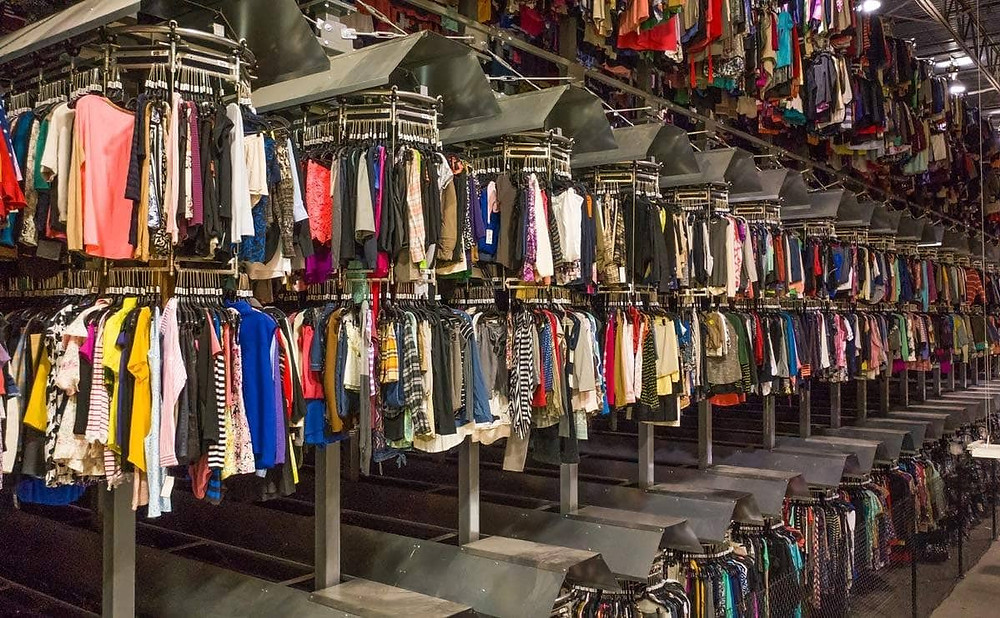 The rising use of polyester has fuelled the fast fashion expansion over the years.
