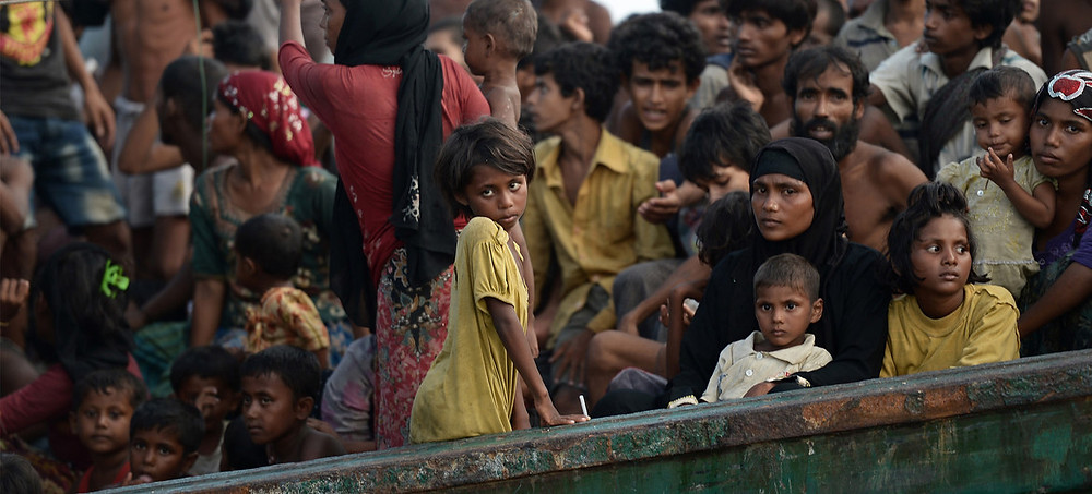 stranded refugees