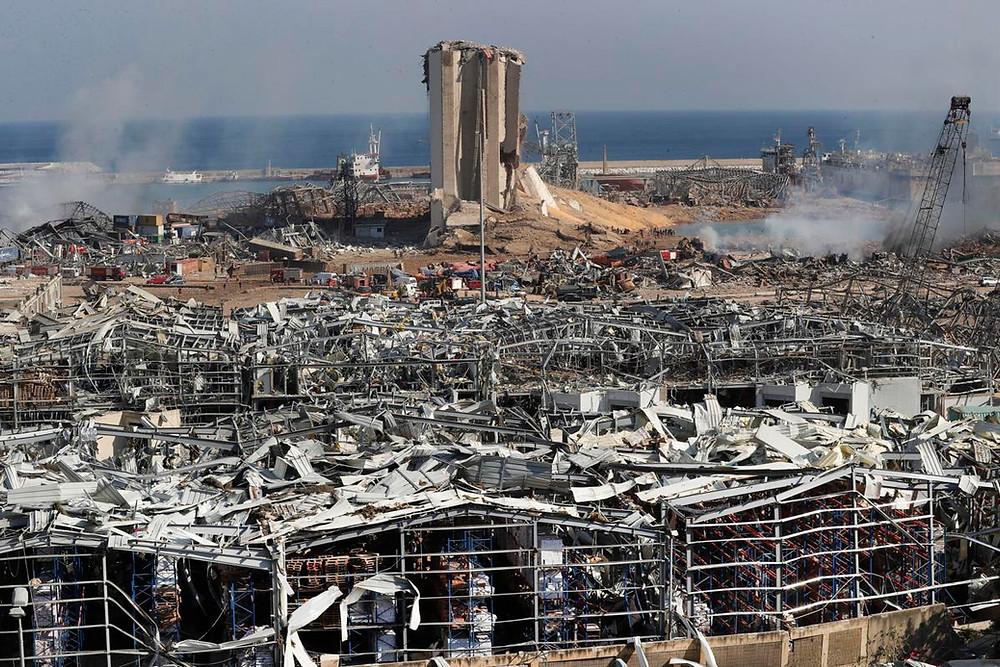 President Trump says Lebanon blast might be an attack