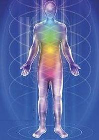représentation énergétique du corps humain