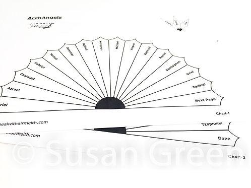 Archangels Dowsing Chart