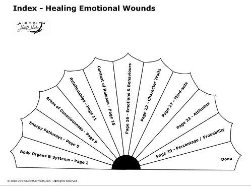 Healing Emotional Wounds Pendulum Dowsing Booklet