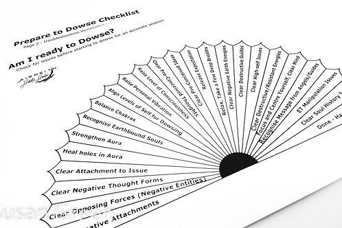 Prepare to Dowse Checklist - Pendulum Dowsing