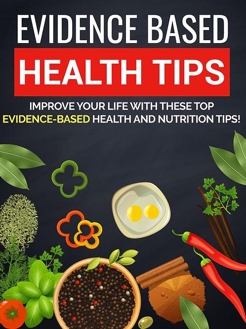 Evidence based health tips eBook