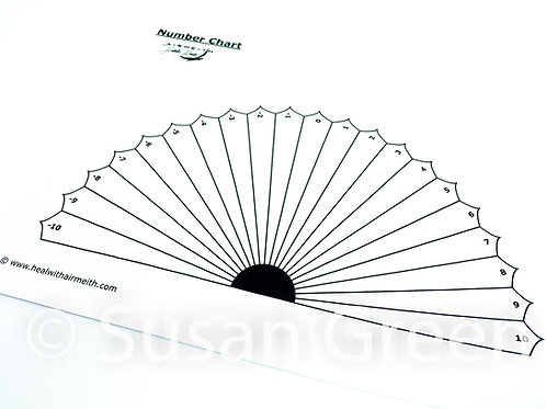 Positive & Negative Number Dowsing Chart