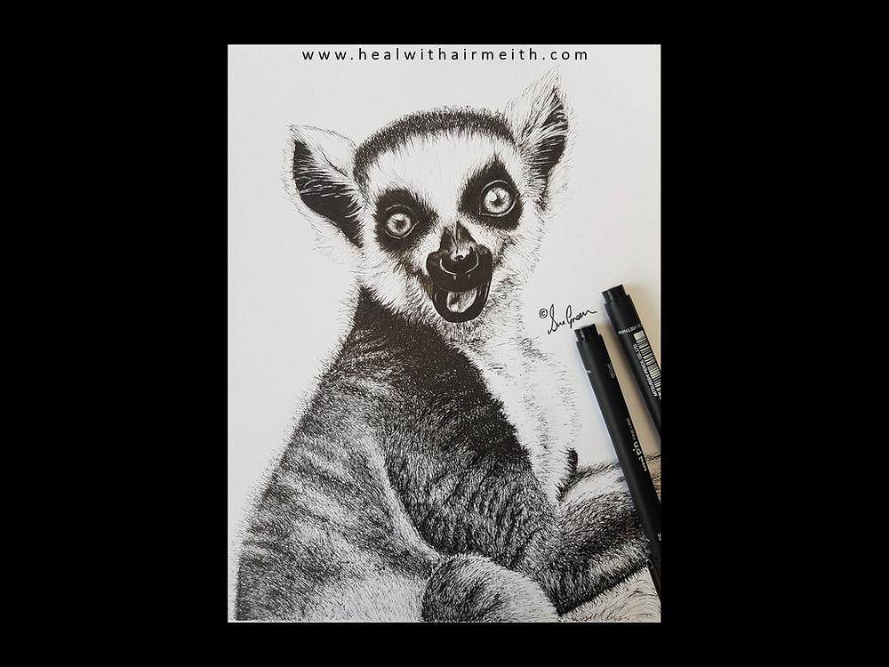 Lemur spirit animal