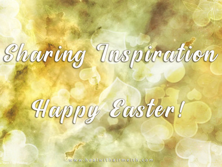 Sharing Inspiration, Happy Easter!