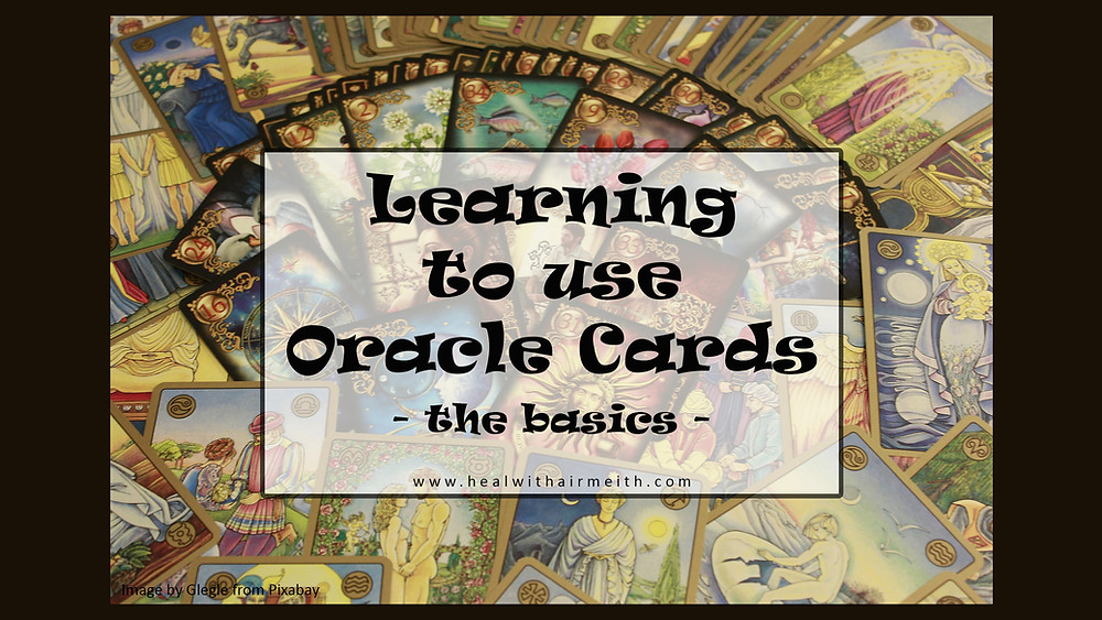 Learn to use oracle cards