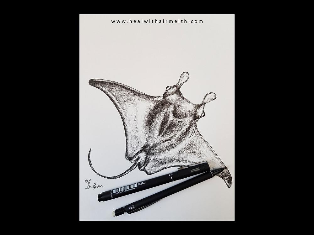 Manta Ray spirit animal