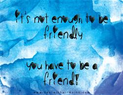 friendly